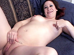 Bloated but still horny Sunshine can forget that she is pregnant whenever she is fucking